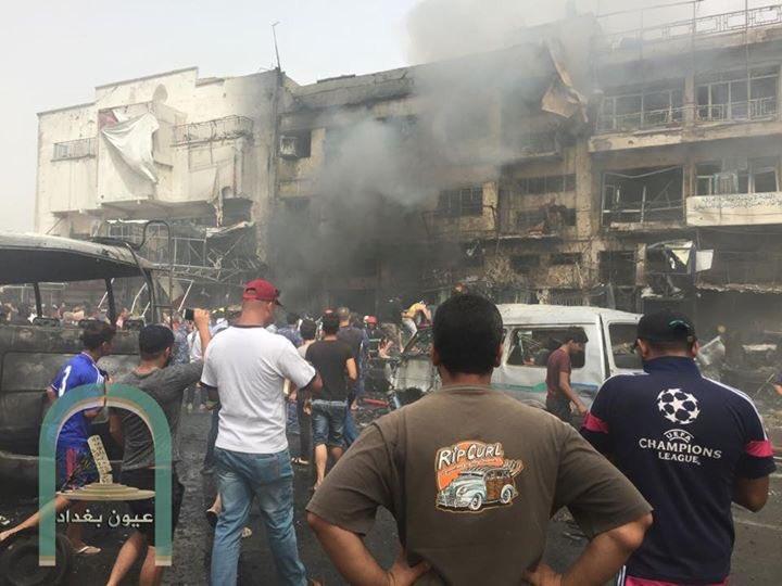 مقتل وإصابة 92 في تفجيرين إرهابيين في بغداد (2)