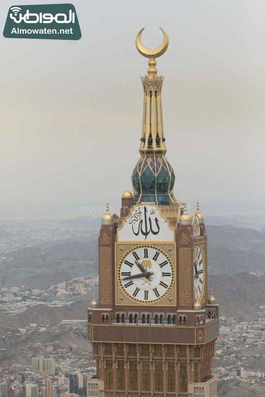 مكة - المسجد الحرام الساعة - المشاعر من الجو4