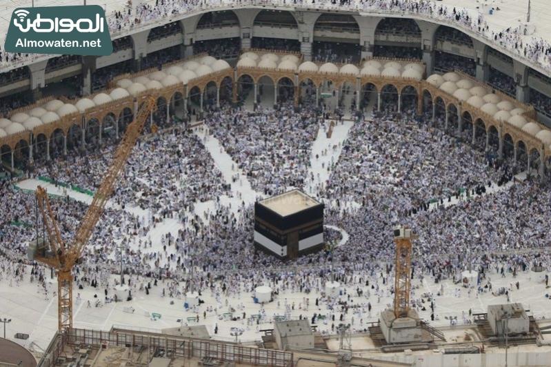 مكة - المسجد الحرام - المشاعر من الجو 5