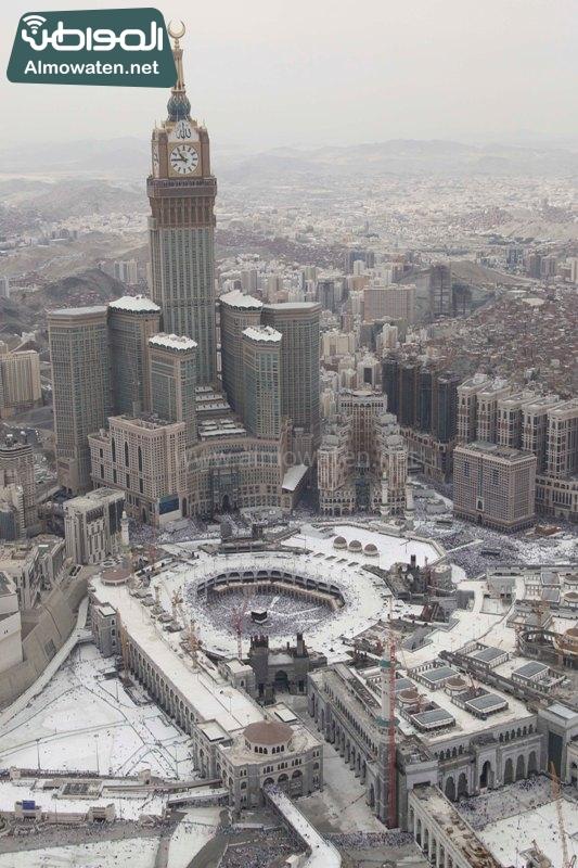 مكة - المسجد الحرام - المشاعر من الجو1