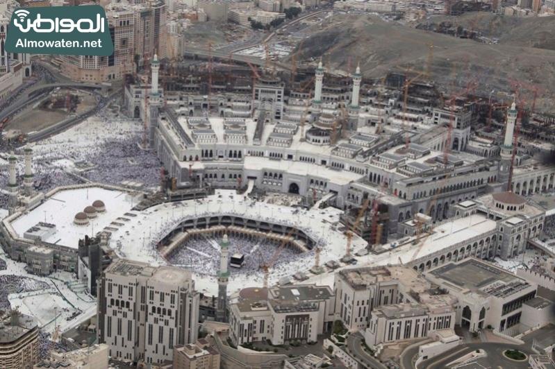 مكة - المسجد الحرام - المشاعر من الجو2