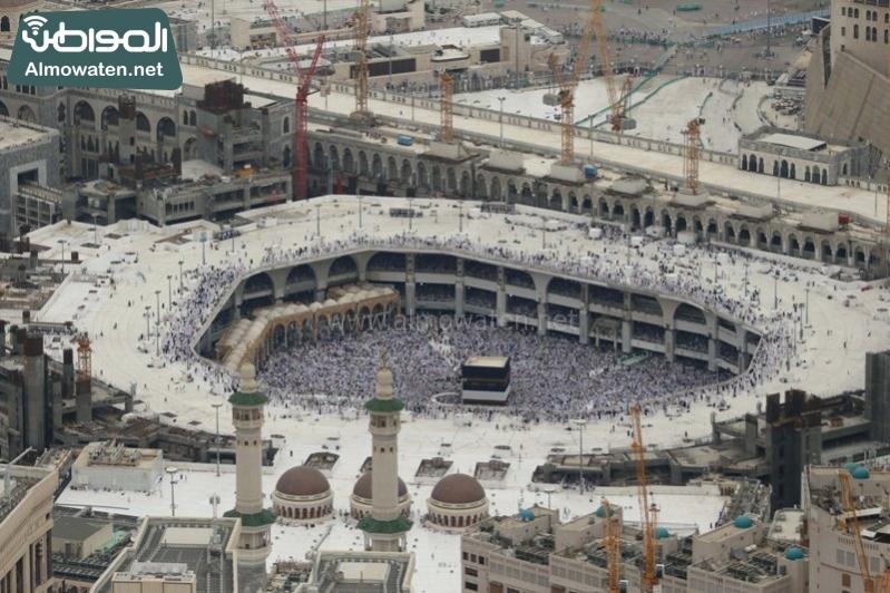مكة - المسجد الحرام - المشاعر من الجو3