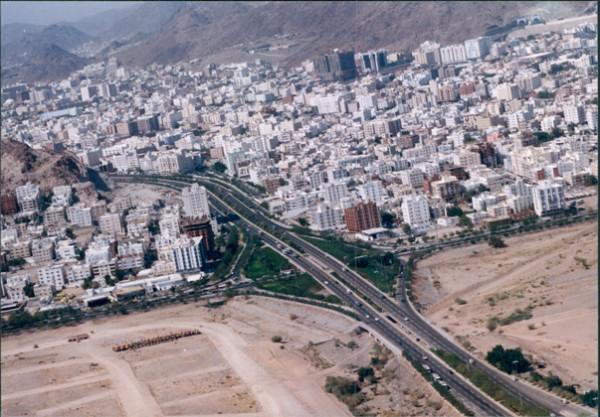 مكه المكرمه احد التقاطعات بمكة المكرمة