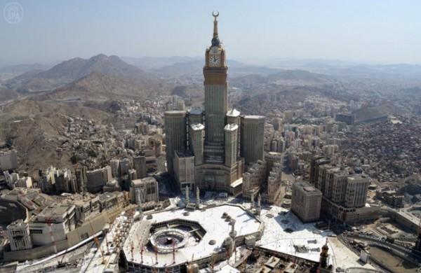 مكه المكرمه - مكة - الكعبه - ساعة مكه - الحرم - المسجد الحرام