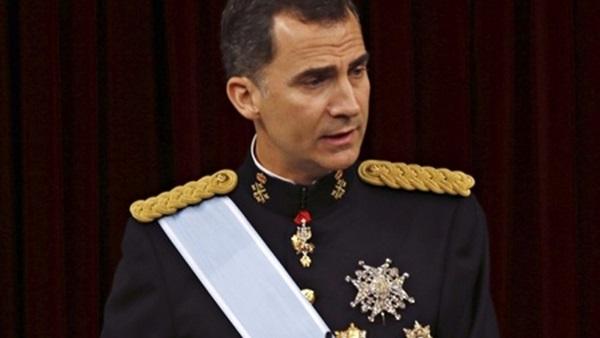 ملك إسبانيا يصل الرياض