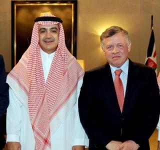 ملك الأردن عبد الله الثاني يمنح الشيخ وليد بن ابراهيم آل ابراهيم وسام الاستقلال من الدرجة الأولى1