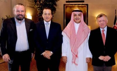 ملك الأردن عبد الله الثاني يمنح الشيخ وليد بن ابراهيم آل ابراهيم وسام الاستقلال من الدرجة الأولى3