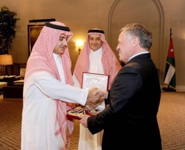 ملك الأردن عبد الله الثاني يمنح الشيخ وليد بن ابراهيم آل ابراهيم وسام الاستقلال من الدرجة الأولى5