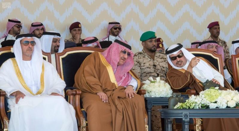 ملك البحرين يرعى اختتام امن الخليج العربي 1 بحضور ولي العهد