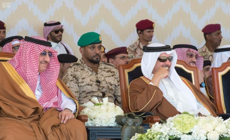 ملك البحرين يرعى اختتام امن الخليج العربي 1 بحضور ولي العهد10
