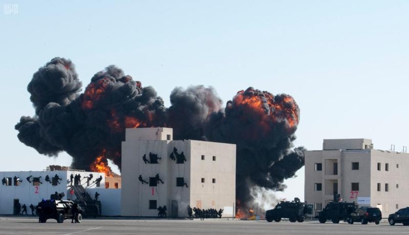 ملك البحرين يرعى اختتام امن الخليج العربي 1 بحضور ولي العهد11