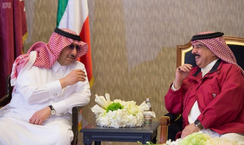 ملك البحرين يرعى اختتام امن الخليج العربي 1 بحضور ولي العهد12