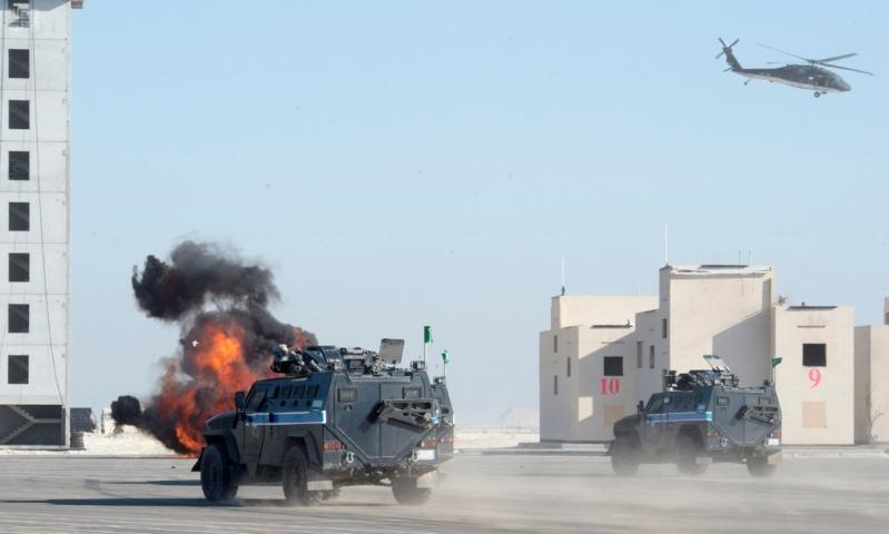 ملك البحرين يرعى اختتام امن الخليج العربي 1 بحضور ولي العهد14