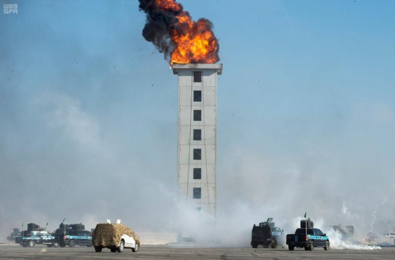 ملك البحرين يرعى اختتام امن الخليج العربي 1 بحضور ولي العهد15