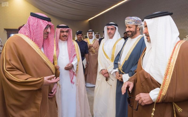ملك البحرين يرعى اختتام امن الخليج العربي 1 بحضور ولي العهد2