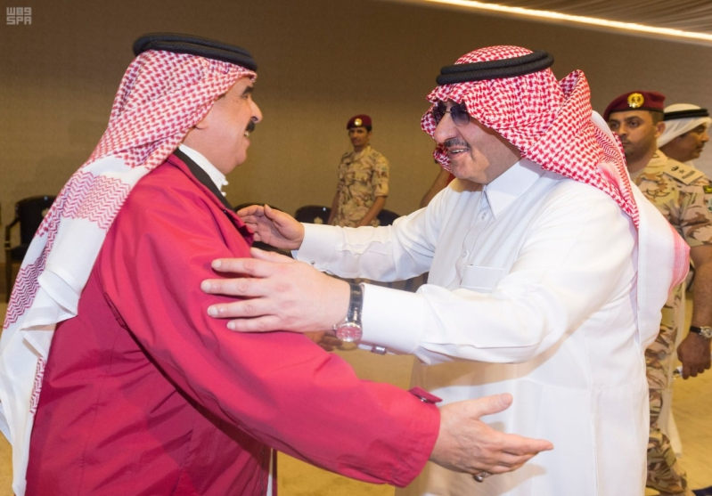 ملك البحرين يرعى اختتام امن الخليج العربي 1 بحضور ولي العهد3
