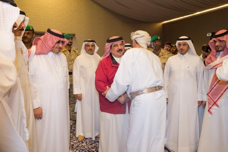 ملك البحرين يرعى اختتام امن الخليج العربي 1 بحضور ولي العهد4