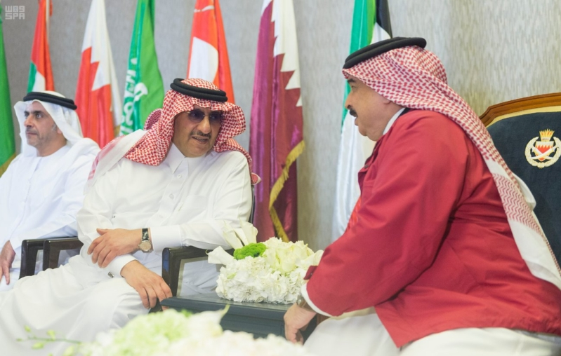 ملك البحرين يرعى اختتام امن الخليج العربي 1 بحضور ولي العهد6