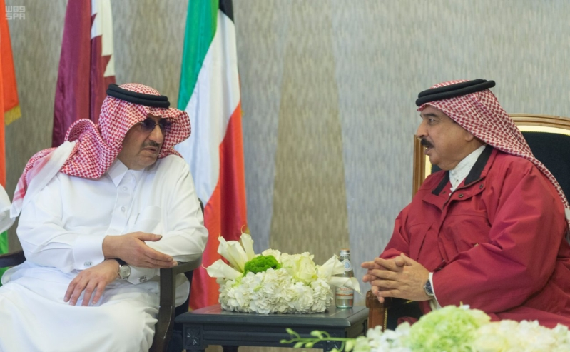 ملك البحرين يرعى اختتام امن الخليج العربي 1 بحضور ولي العهد7