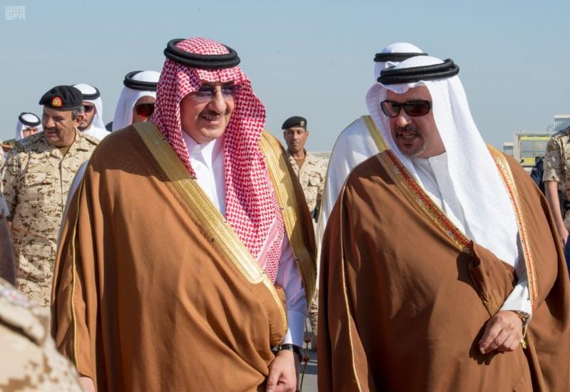 ملك البحرين يرعى اختتام امن الخليج العربي 1 بحضور ولي العهد8