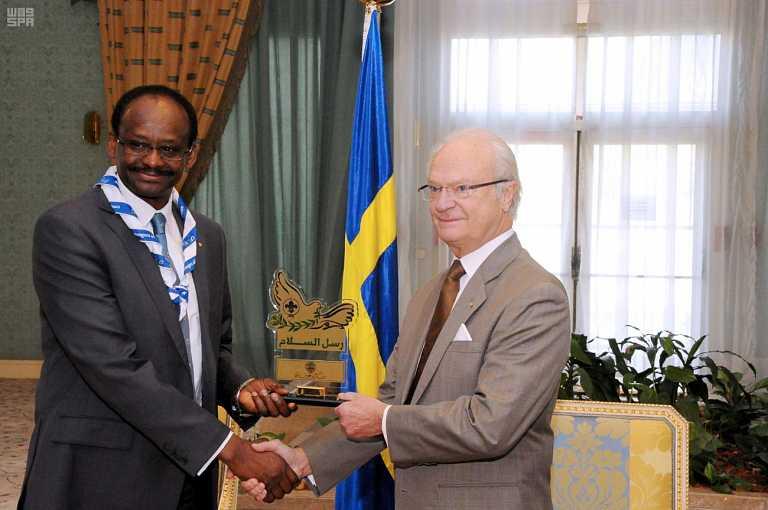 ملك السويد يكرم في الرياض أبطال رسل السلام على مستوى العالم (5)