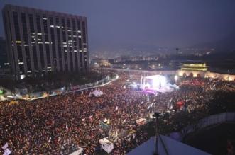 """صور.. كوريا الجنوبية تنتفض بـ""""مليونية"""" إسقاط الرئيسة - المواطن"""