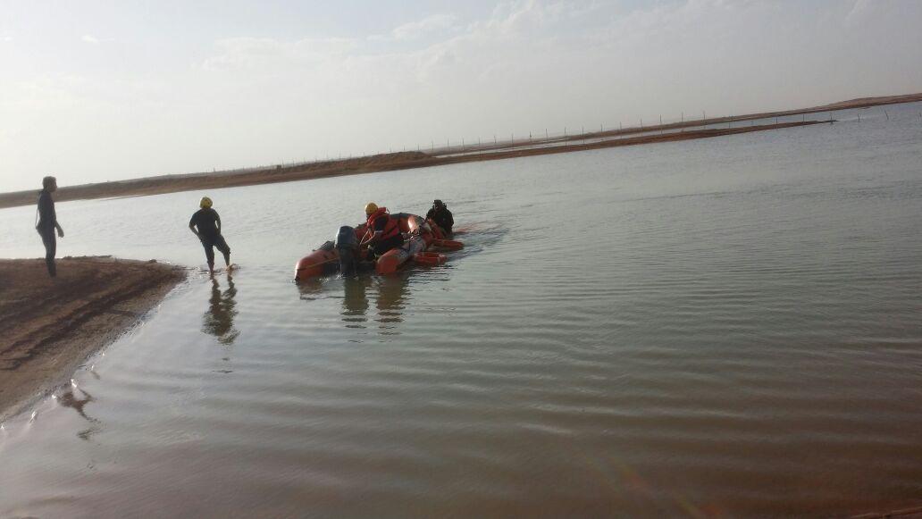 ممارسة شاب للسباحة تنهي حياته في الاسياح بالقصيم (1)