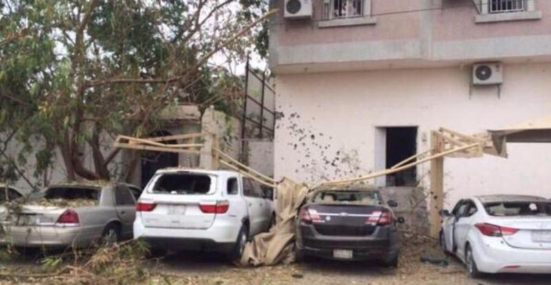 منازل وسيارات متضررة