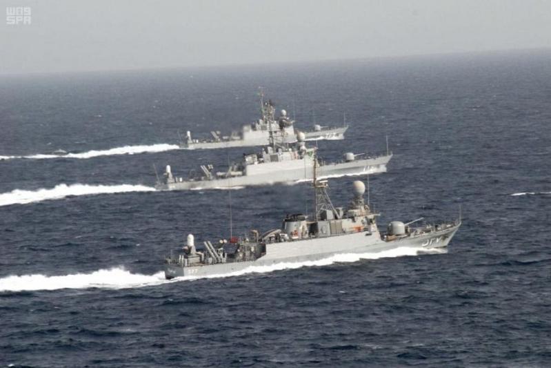 بالصور.. التمرين البحري المشترك ينطلق بمشاركة باكستانية