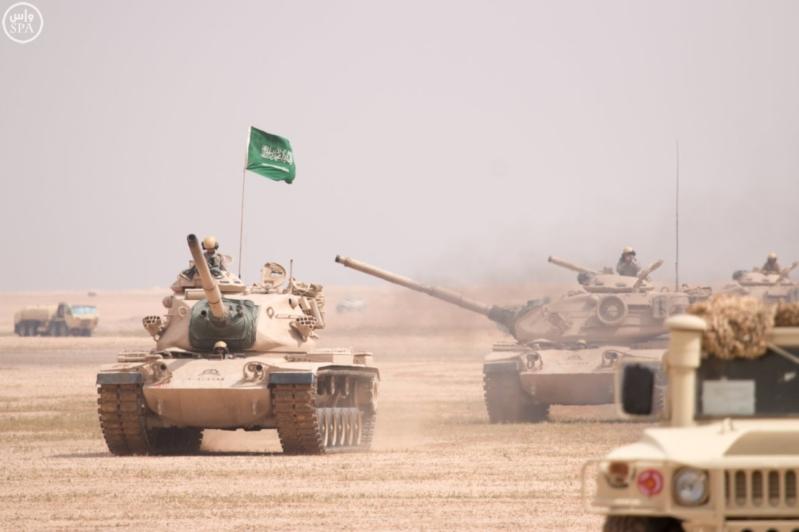مناورات سعودية