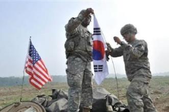 مناورات عسكرية أمريكية كورية جنوبية