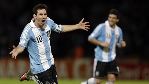 منتخب-الأرجنتين-ميسي