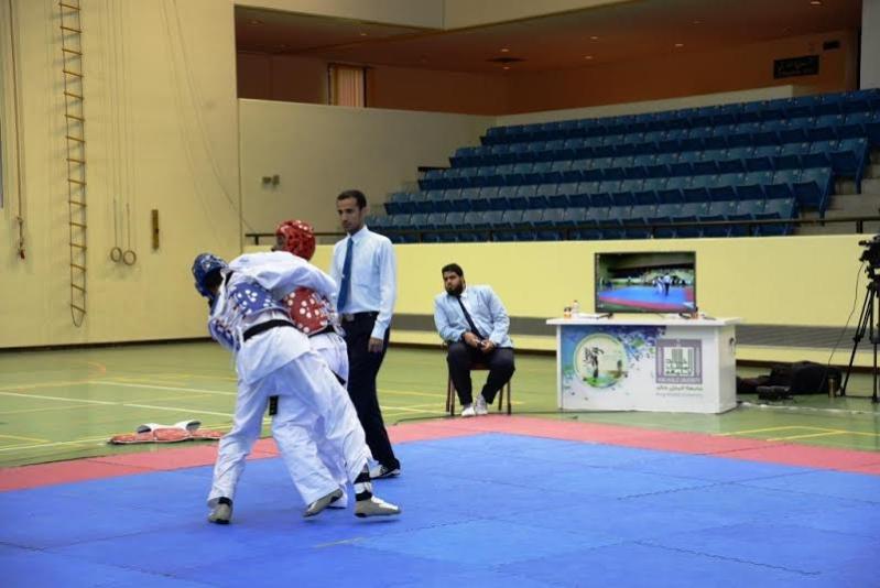 منتخب جامعة الملك سعود بطلا للتيكوندو في أبها3