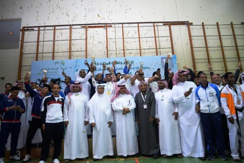 منتخب جامعة الملك سعود بطلا للتيكوندو في أبها6