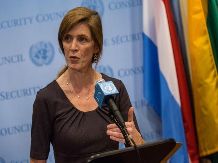 مندوبة امريكا الامم المتحدة
