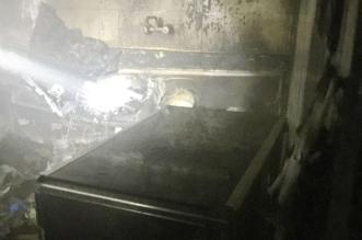 إخلاء عائلة من 6 أشخاص إثر اندلاع حريق بعمارة سكنية في الطائف - المواطن