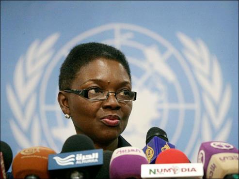 منسقة الشؤون الإنسانية في الأمم المتحدة فاليري آموس