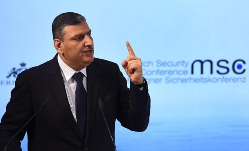 منسق الهيئة العليا للمفاوضات السورية رياض حجاب