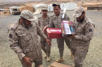 منسوبات نادي الموسمي بإدارة تعليم بيشة تُرسل هدايا رمزية للجنود - المواطن