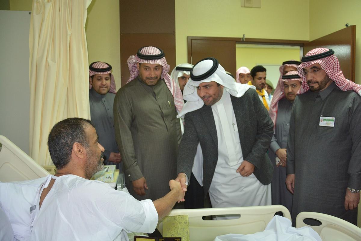 منسوبو تعليم #الرياض يزورون مصابي الحد الجنوبي (1)