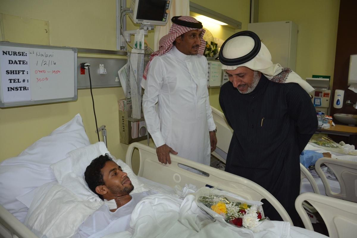منسوبو تعليم #الرياض يزورون مصابي الحد الجنوبي (3)