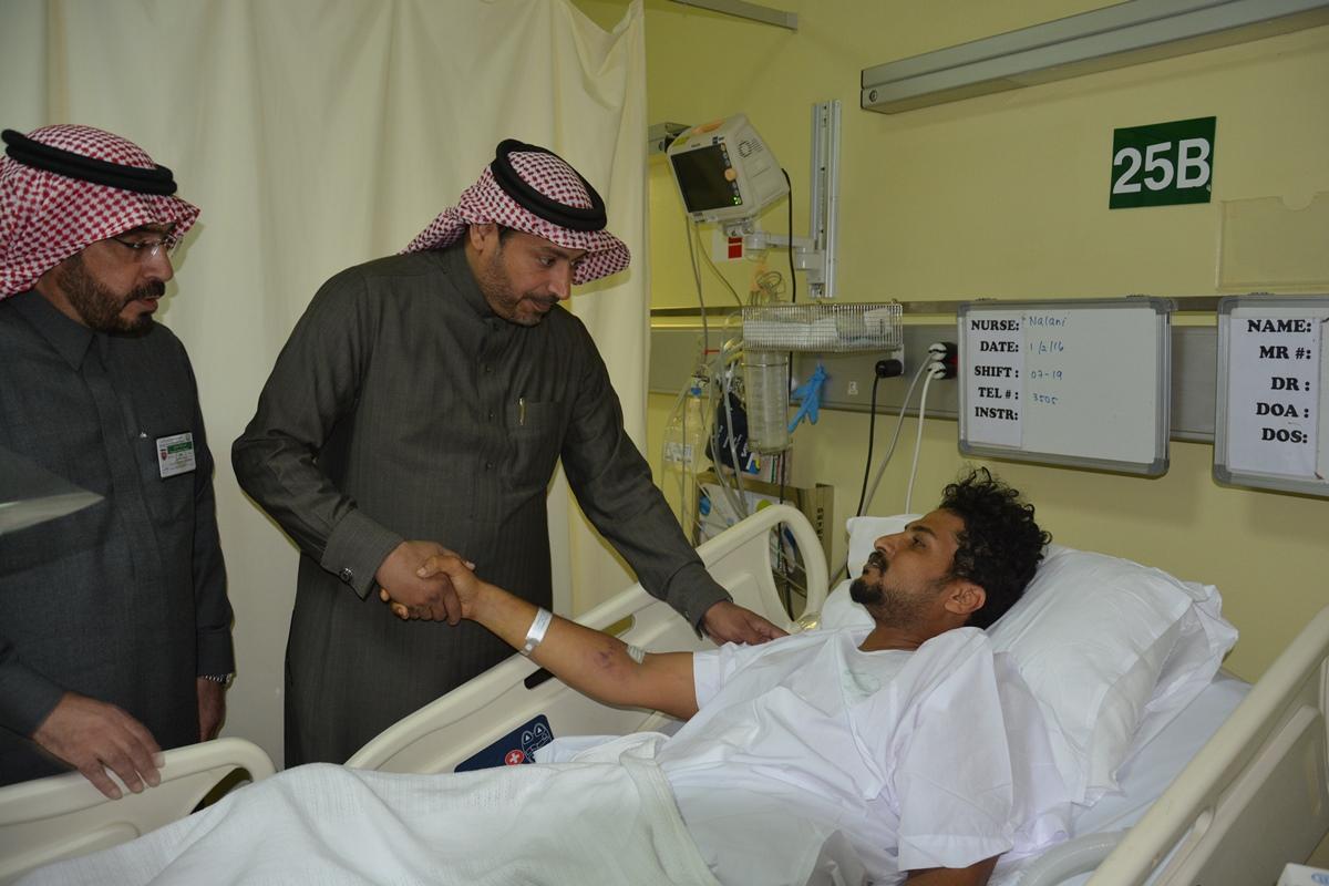 منسوبو تعليم #الرياض يزورون مصابي الحد الجنوبي (4)
