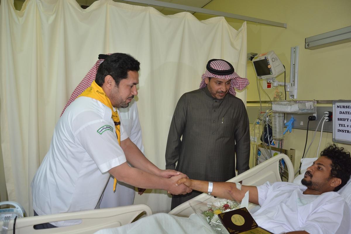 منسوبو تعليم #الرياض يزورون مصابي الحد الجنوبي (6)