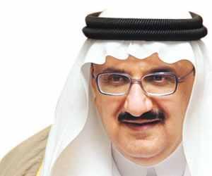 وزير الشؤون البلدية والقروية -الأمير الدكتور منصور بن متعب بن عبدالعزي