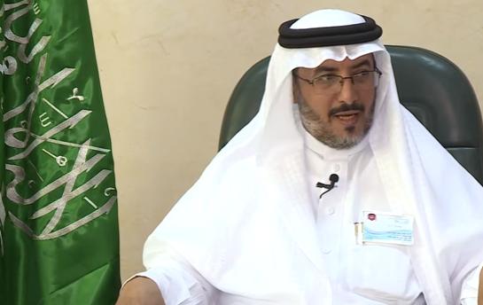 منصور عبدالله شريم بعد تعيينه مديرا لتعليم محايل عسير