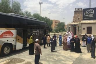 8000 معتمر يقومون برحلات سياحية في عدد من مناطق المملكة - المواطن