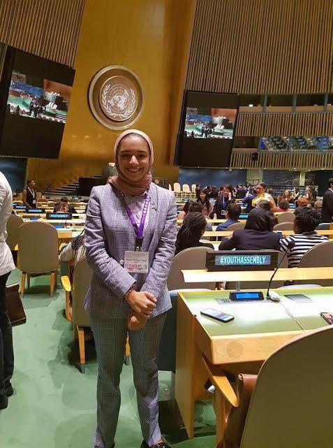 من هي الطالبة السعودية التي كرمتها الأمم المتحدة! 1