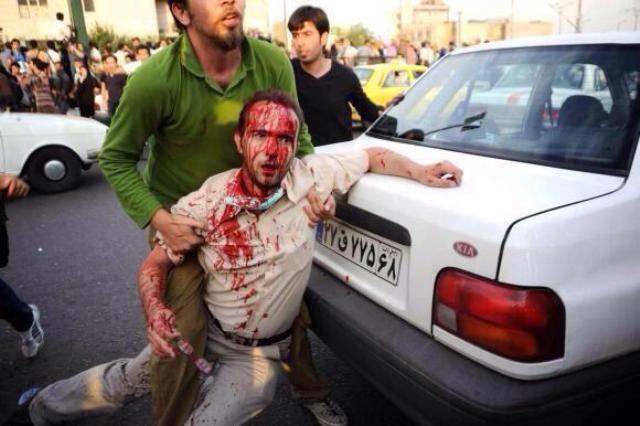 بالصور والفيديو.. #إيران_تشتعل ومطالب بدعم انتفاضة مهاباد - المواطن
