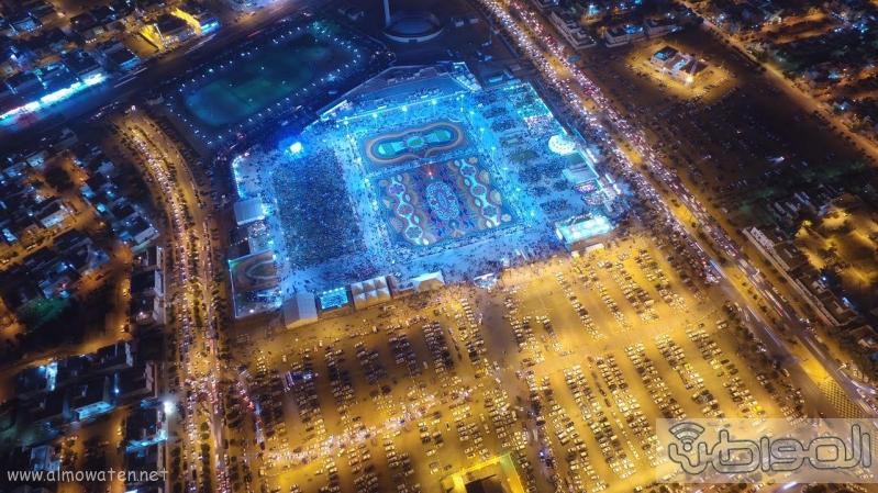 مهرجان ربيع الرياض كما بدا مساء اليوم الجمعه1
