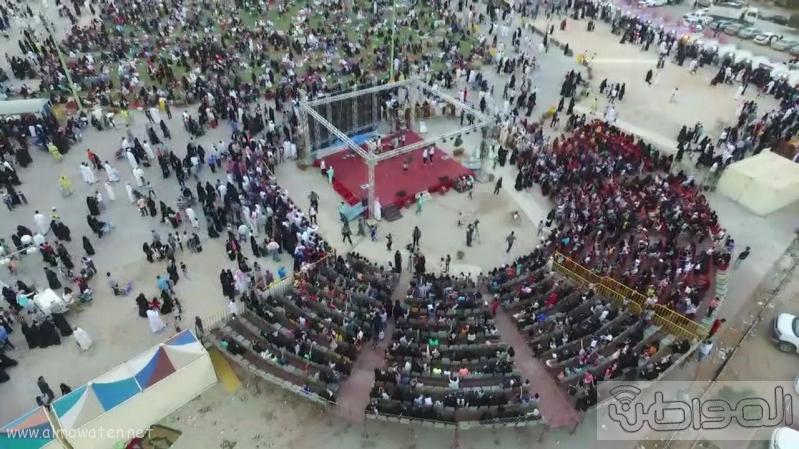مهرجان ربيع الرياض كما بدا مساء اليوم الجمعه2